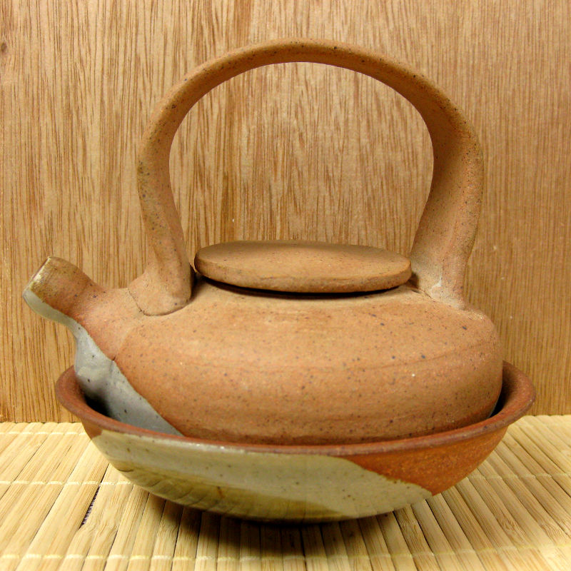 Teapot and Bowl Set by Mark Mohler