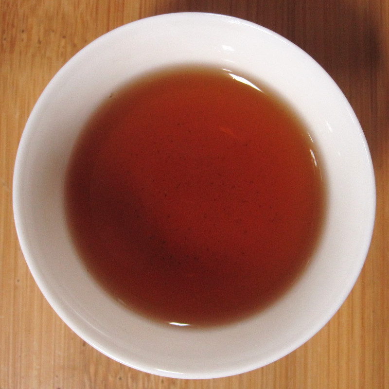 Gong Ting Puer in King Orange