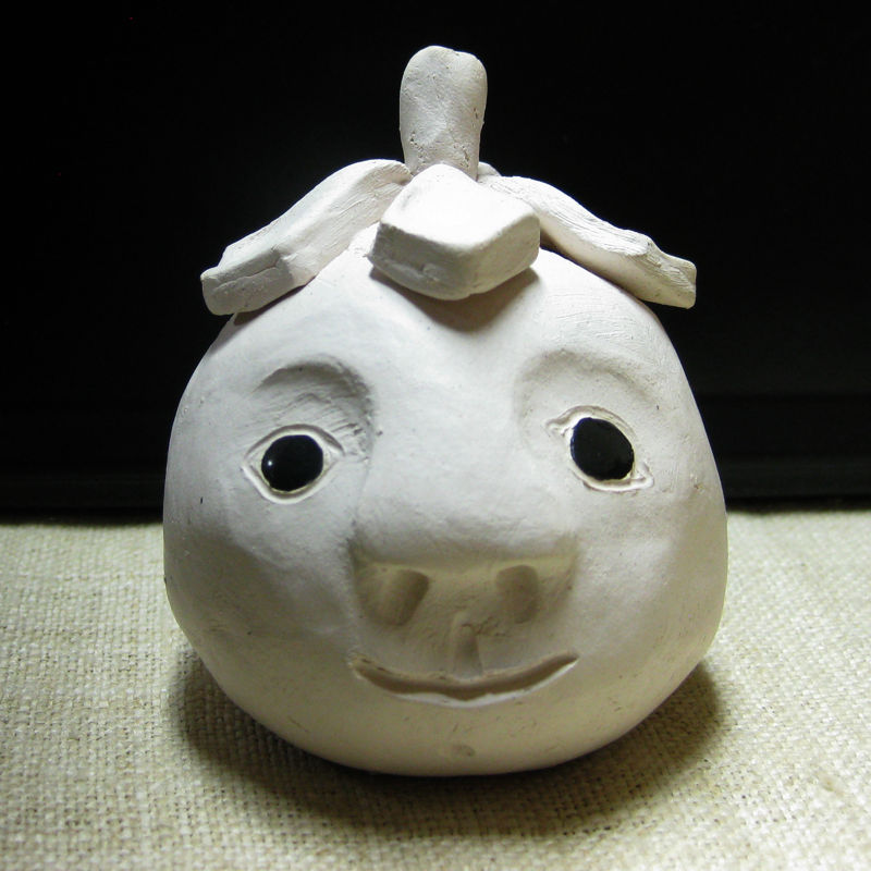 Tomato-Faced Tea Pet